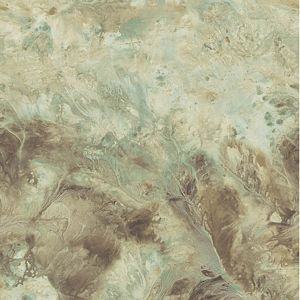 PL185610 Birdseye Marble Burnished Teal Paper Illusion Faux Finish Wallpaper