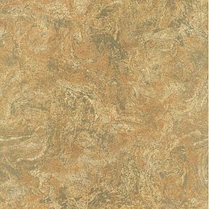 PL185631 Florentine Marble Cinnamon Paper Illusion Faux Finish Wallpaper