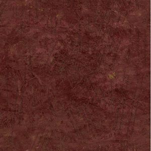 PL185640 Script Pomegranite Paper Illusion Faux Finish Wallpaper